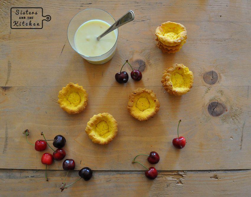 crostatine ciliegie fresche - CROSTATINE E CILIEGIE