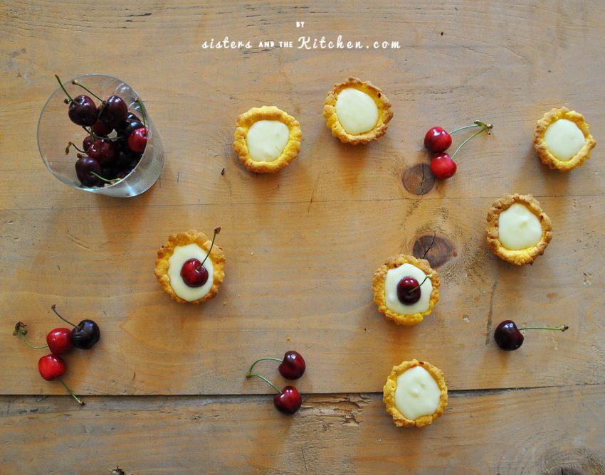 crostatine ciliegie fresche - farcitura