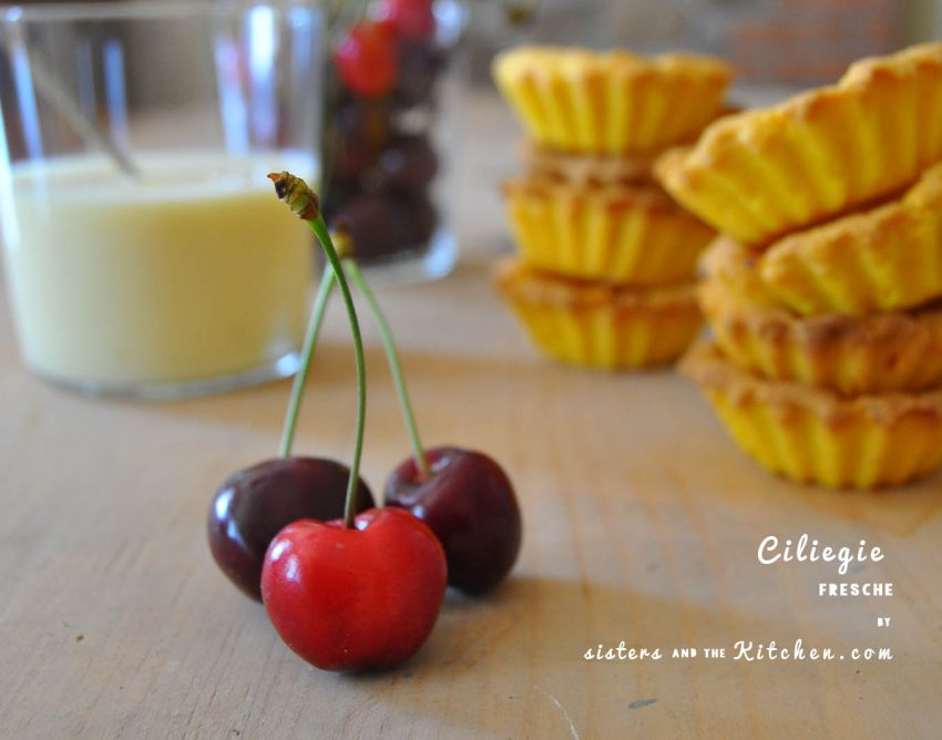crostatine ciliegie fresche - sistersandthekitchen - ciliegie